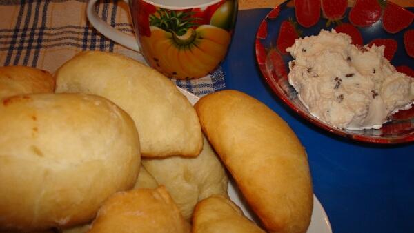Рецепт приготовления  пирожки с творогом печеные в духовке